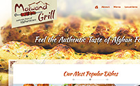 Maiwand Grill, Afghan foods